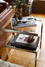 Load image into Gallery viewer, Belgo Chrome 23 Carat Gold G Side Table