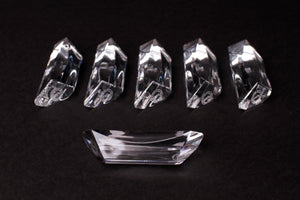 St Louis Crystal Deco Knife Rests