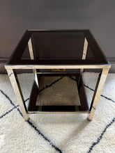 Load image into Gallery viewer, Belgo Chrome 23 Carat Gold Plated Coffee Table and Side Tables Set