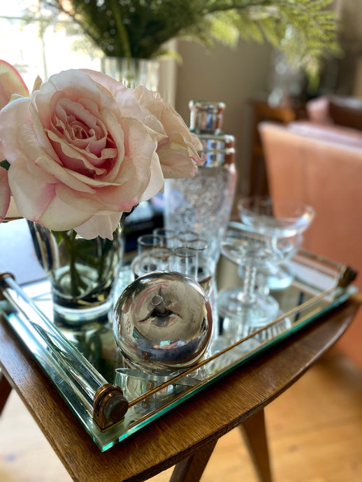Art Deco Mirrored Tray