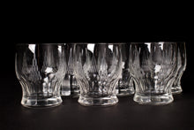 Load image into Gallery viewer, Art Deco Etched Whiskey / Water Glasses