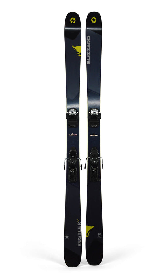 Ski Blizzard Rustler 9 + Salomon Warden 13 MNC - Mountain Lab
