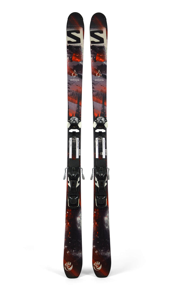 Ski Salomon Q90 + Salomon Guardian + Vellen - Mountain Lab