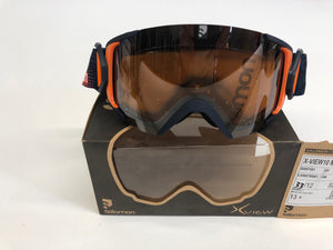 Skibril Salomon X-View Dark Blue / Universal - Mountain Lab