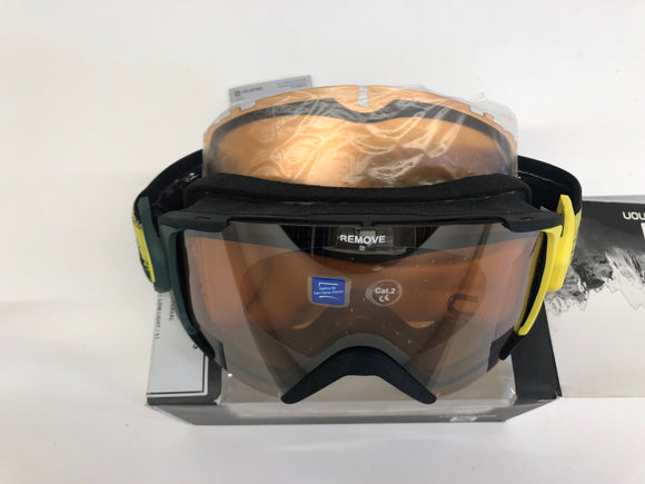 Skibril Salomon X-View Yellow / Universal + extra lens - Mountain Lab