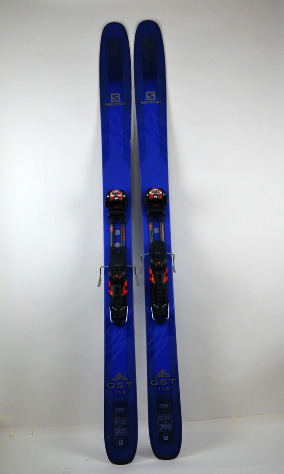 Ski Salomon QST 118 + Salomon Guardian 13 MNC - Mountain Lab