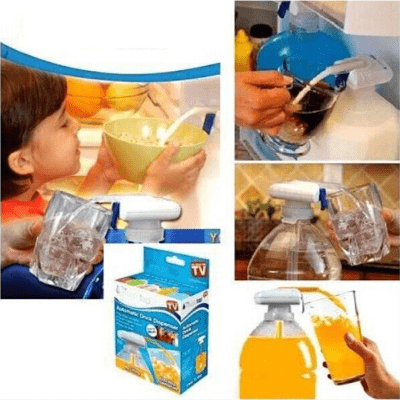Magic Tap-turn any beverage container into an automatic and spill proof drink dispenser