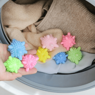 Anti-winding Laundry Ball-Effectively prevent clothes from twisting or tangling