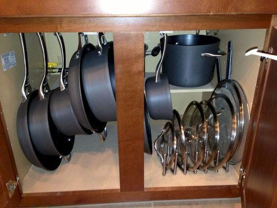 Cabinet Hook Mug Holder(6 Hooks)