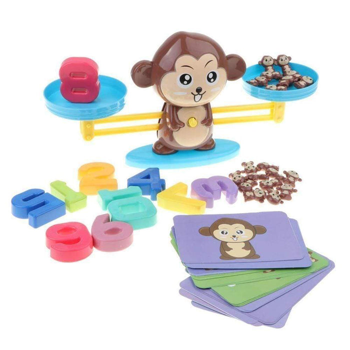 Little Monkey Puzzle Addition and Subtraction Game
