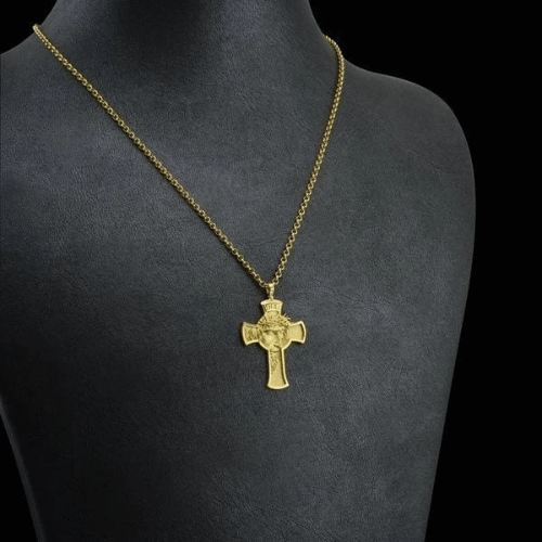 'JESUS PROTECT ME' PENDANT NECKLACE—Buy It For Your Loved One