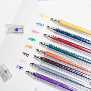 1.0mm Bold Line Glitter/Sparkle Gel Pen-8 Color