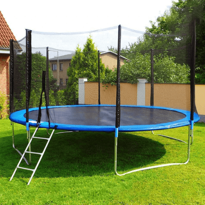 Kids trampoline with high safe net