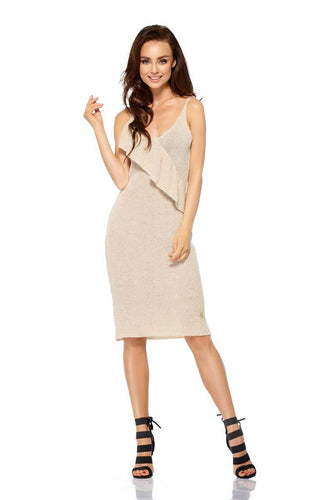 Sleeveless party Beige  Dresses