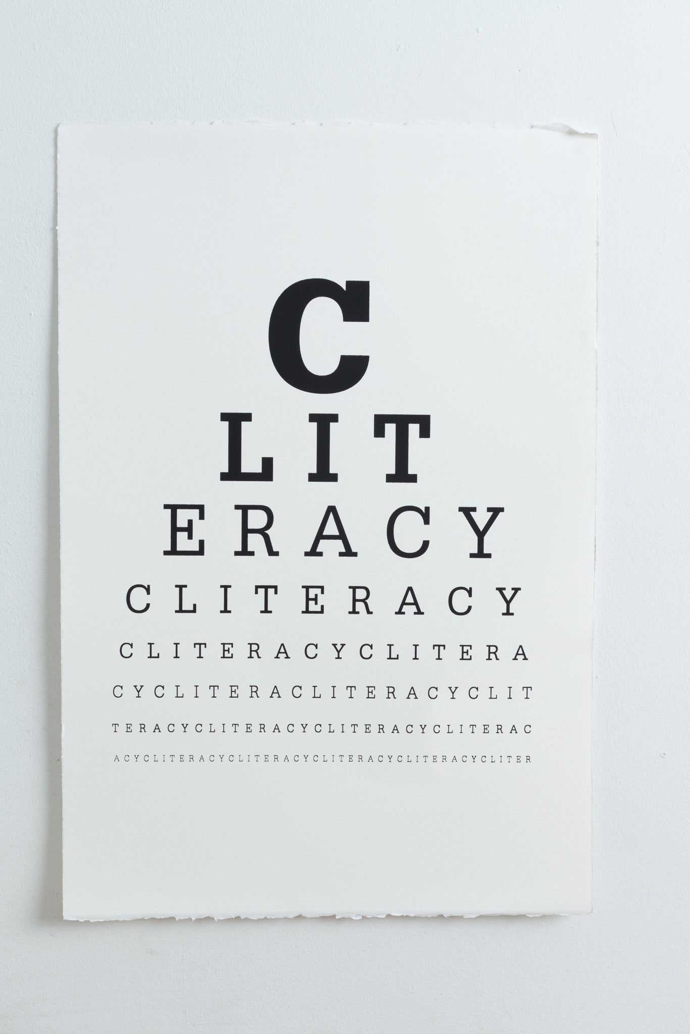 CLITERACY, Eye Chart