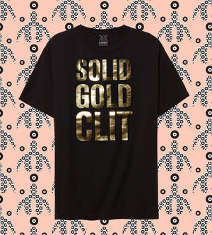 SOLID GOLD | Cliteracy Classic T-Shirt