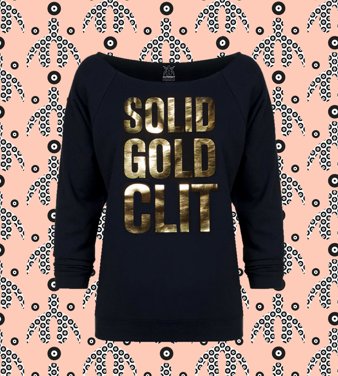 SOLID GOLD CLIT | Sweatshirt