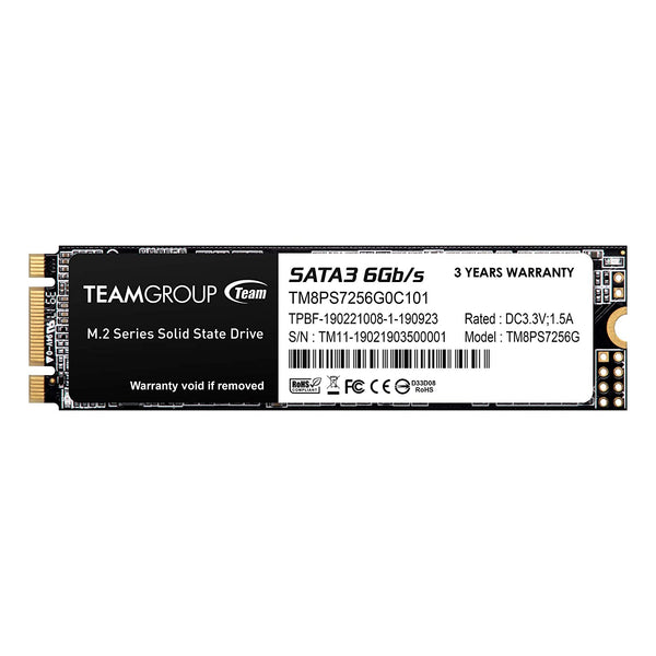 TEAMGROUP MS30 256GB SATA Rev. 3.0 (6Gb/s) M.2 Solid State Drive SSD