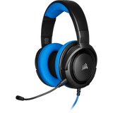 Corsair HS35 Stereo Gaming Headset,CA-9011195-NA (Carbon,Blue, Red, Green)
