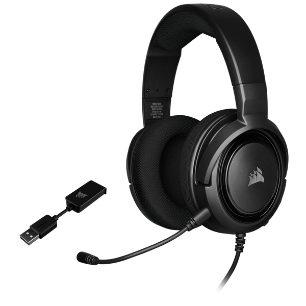 Corsair HS45 SURROUND Gaming Headset CA-9011220-AP -Carbon