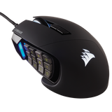CORSAIR MOUSE GAMING SCIMITAR PRO RGB OPTICAL BLACK,CH-9304111-AP