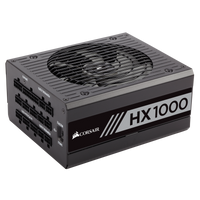 CORSAIR HX1000 PLATINUM Certified Fully Modular PSU,CP-9020139-UK