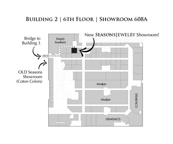 Showroom location map