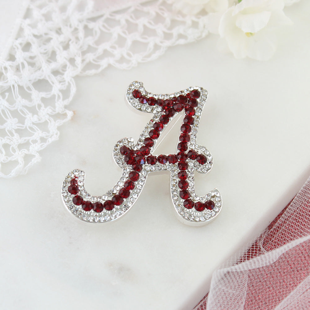 Alabama Crystal Logo Pin