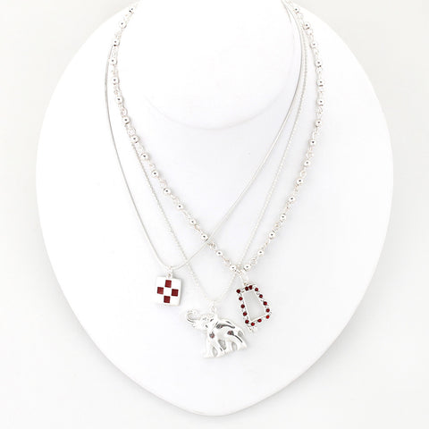 Alabama Traditions Trio Necklace