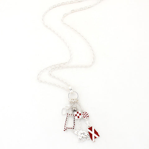 Alabama Traditions Cluster Necklace