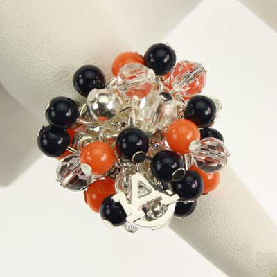 Seasons Jewelry Auburn Logo Bauble Ring