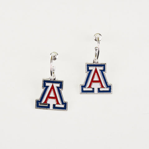 Arizona Logo Hoop Earrings
