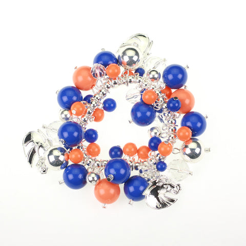 Boise State Bauble Stretch Bracelet