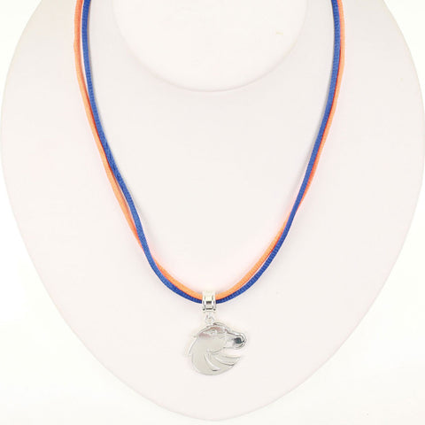 Seasons Jewelry Boise State Logo 16 inch Necklace