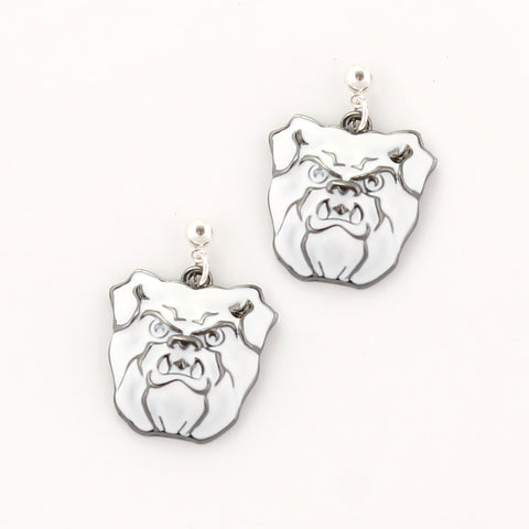Butler Logo Enamel Earrings