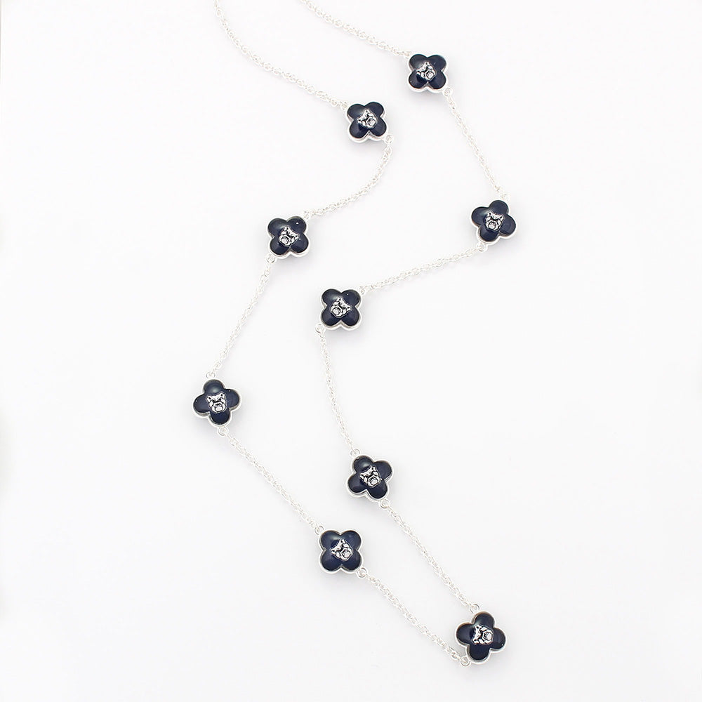 Butler Quatrefoil Necklace