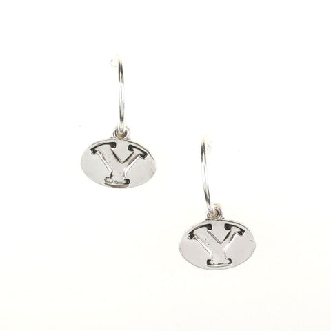 Seasons Jewelry BYU Logo Hoop Earrings