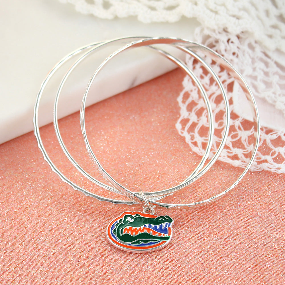 Florida Logo Bangle Bracelets