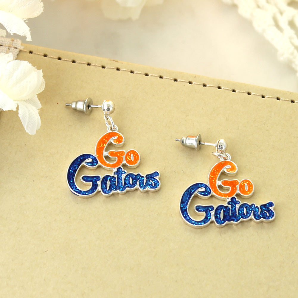 Florida Slogan Earrings