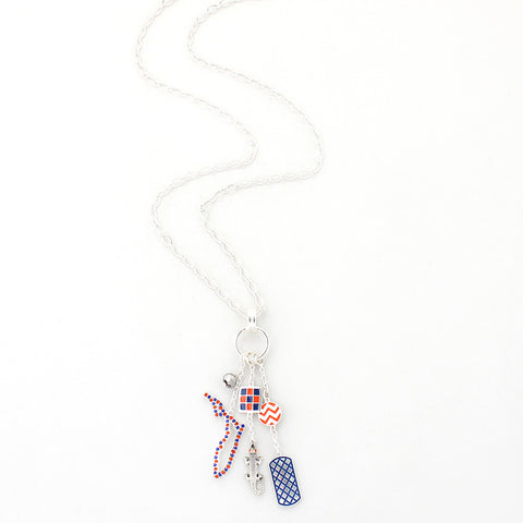 Florida Traditions Cluster Necklace