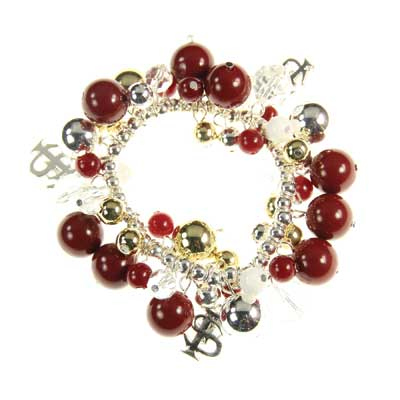 Florida State Bauble Stretch Bracelet