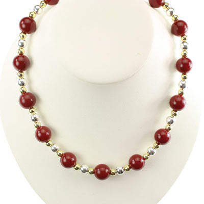 Florida State Beaded Stretch Necklace