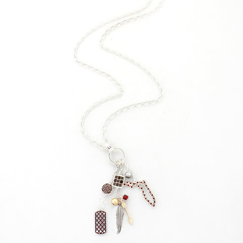 Florida State Traditions Cluster Necklace