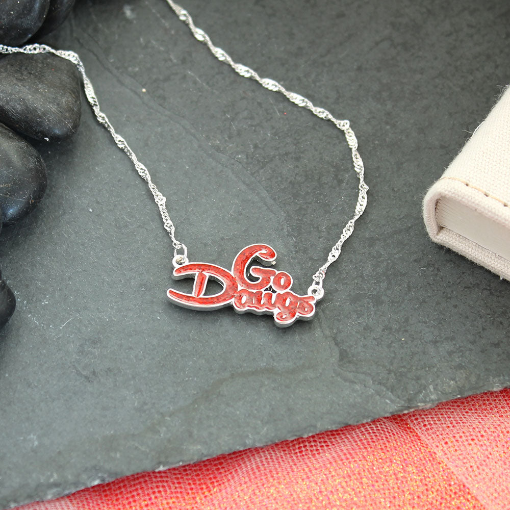Georgia Slogan Necklace