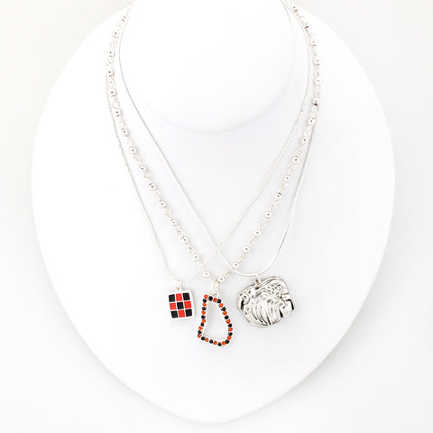 Georgia Traditions Trio Necklace Set