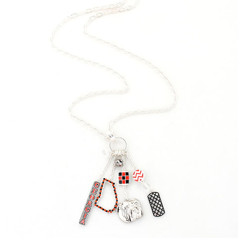 Georgia Traditions Cluster Necklace