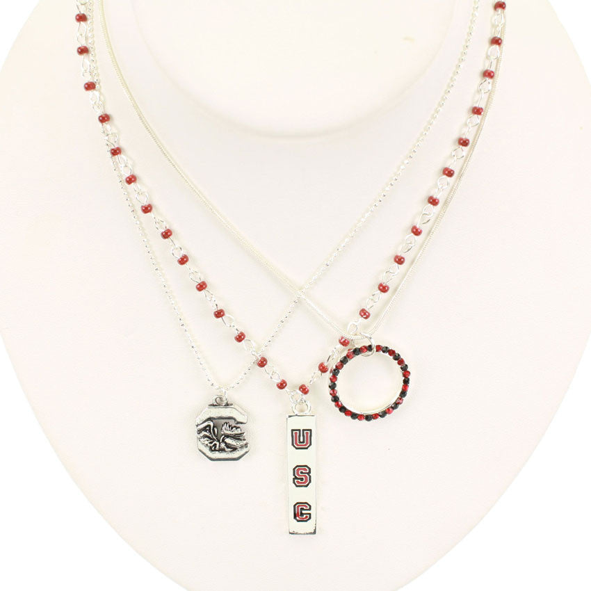Seasons Jewelry South Carolina Trio Necklace