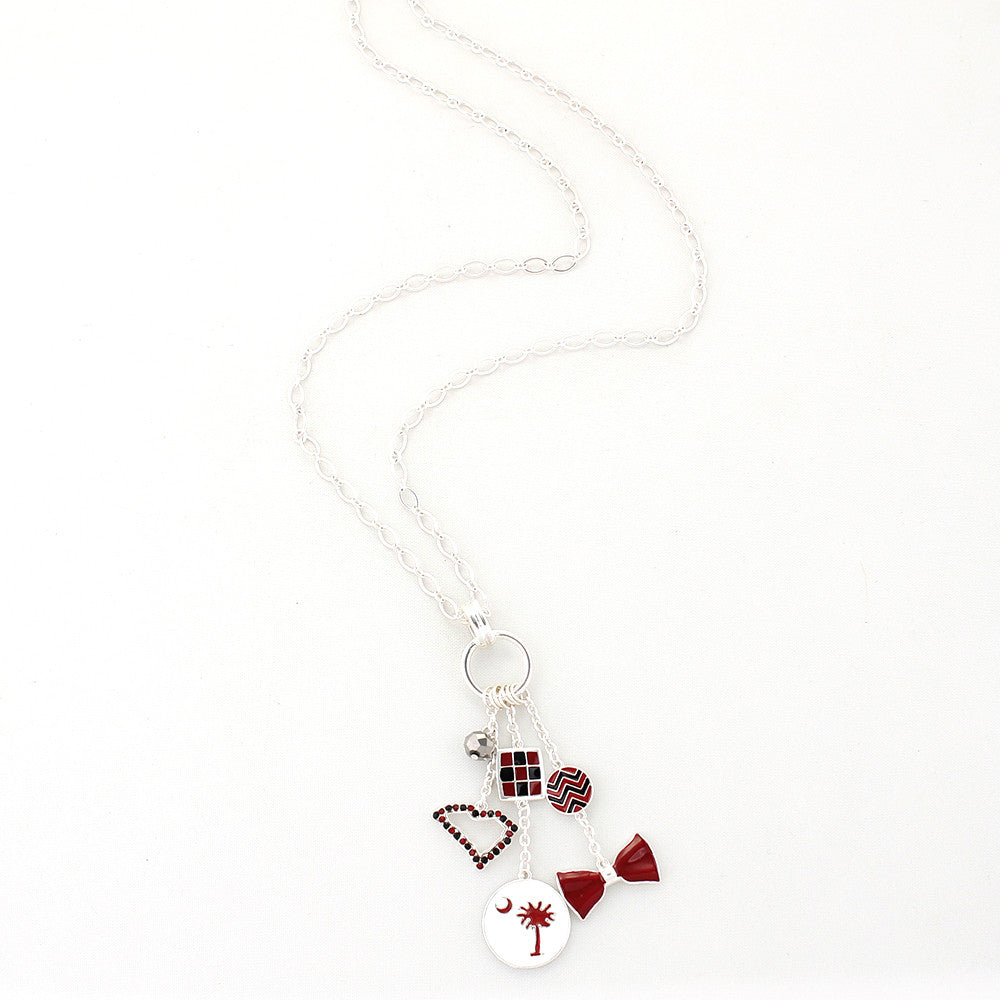 South Carolina Traditions Cluster Necklace
