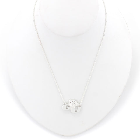 Gonzaga Logo Necklace