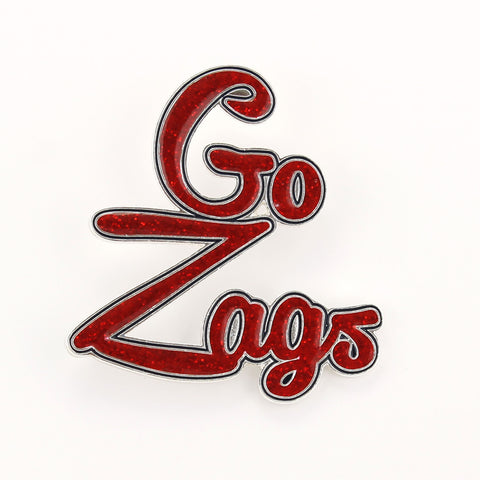 Gonzaga Slogan Pin